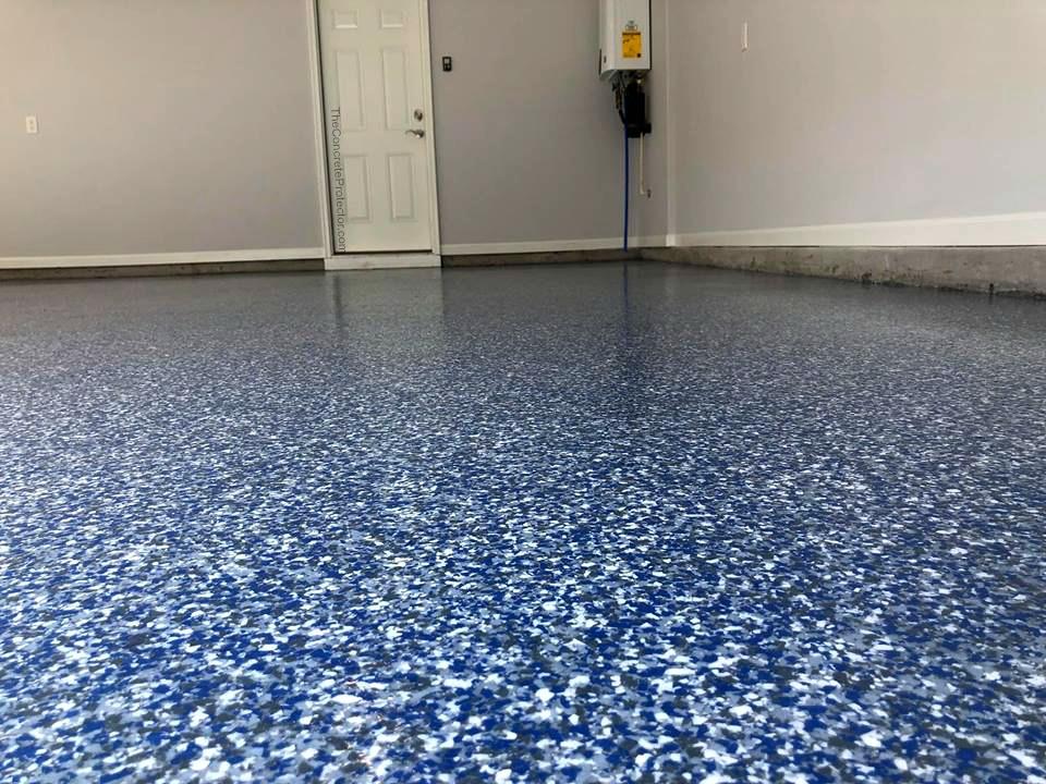 Epoxy Flake Flooring Ocala Florida | GulfCoast Artistic Concrete