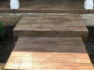 Decorative Concrete Wood Flooring   High Point Florida   GULFCOAST Artistic Concrete