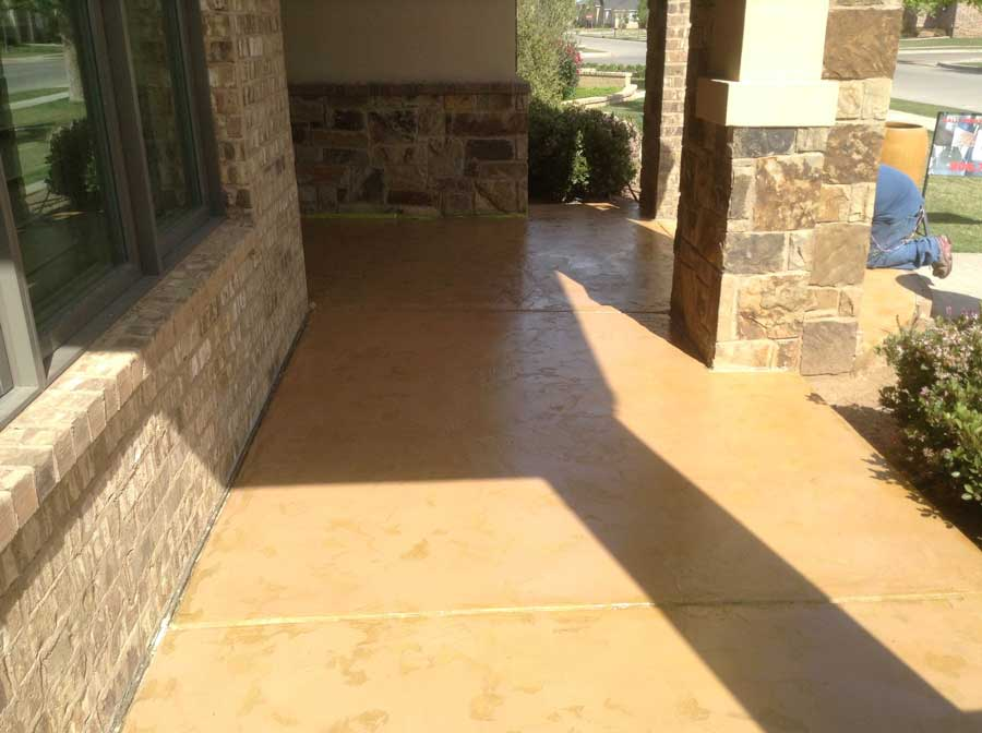 Slate Stained Concrete Ocala Florida | GulfCoast Artistic Concrete