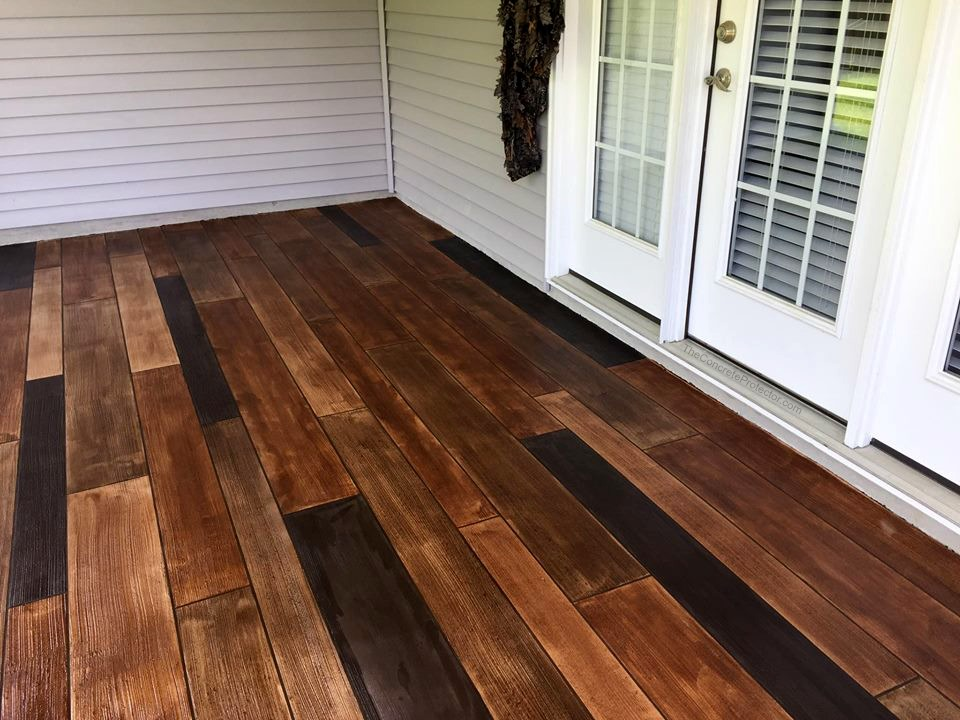 Decorative Concrete Wood Flooring | Ocala Florida | GULFCOAST Artistic Concrete