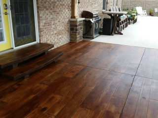 Decorative Concrete Wood Flooring   Ocala Florida   GULFCOAST Artistic Concrete