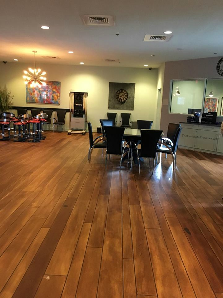 Decorative Concrete Wood Flooring | Gainesville Florida | GULFCOAST Artistic Concrete
