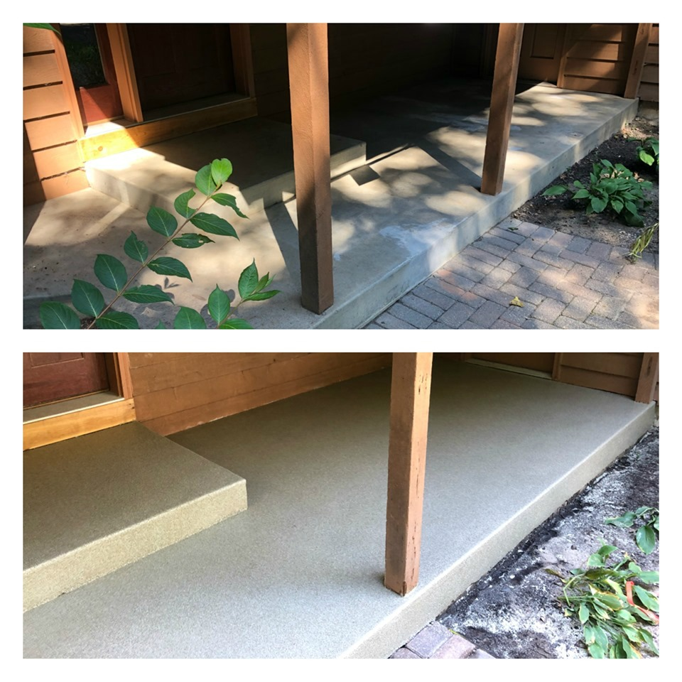 GraniFlex Porch- The Concrete Guy