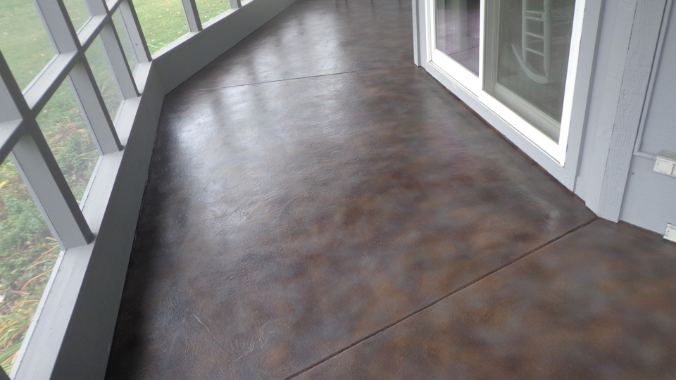 Stained Concrete | Gainesville Florida | GULFCOAST Artistic Concrete