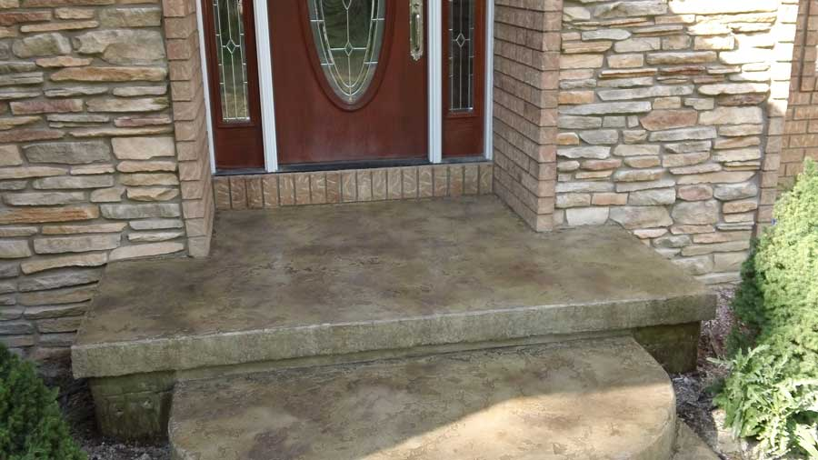 Slate Stained Concrete Gainesville Florida | GulfCoast Artistic Concrete